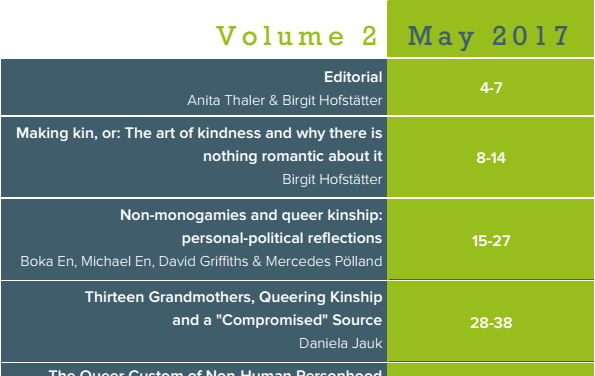 Our second Queer-Feminist STS Forum about pro-kin utopias is out now!
